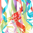 Stock Photo: Multicolored ribbons