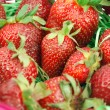 Strawberry close detail — Stock Photo