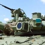Tank turret — Stock Photo