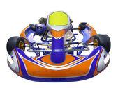 Karting racing car — Stock Photo