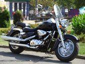 Motocicleta negra rápida — Foto de Stock