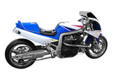Fast racing dragbike motorcycle — Стоковое фото