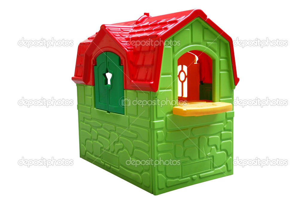 Kid house toy isolated — Stock Photo #1705624