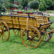 Old wooden coach - Stock Photo
