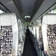 Inside of bus — 图库照片