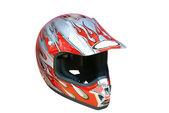 Motorcycle helmet isolated — Stock Photo