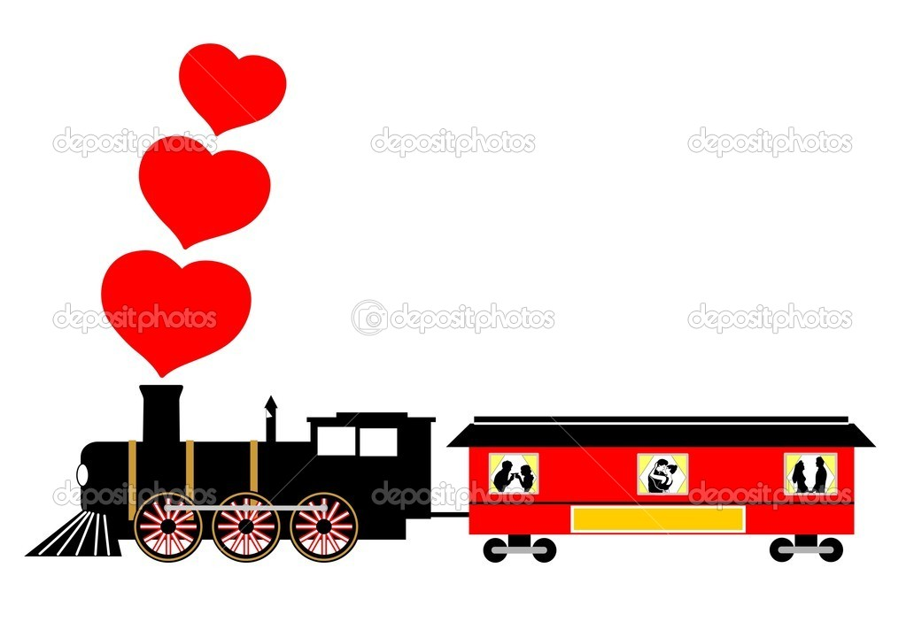 Love train vector illustration  Stock Vector #1754328