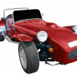Stock Photo: Oldtimer racing car