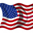 Stock Photo: National Flag USA