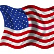 National Flag USA — Stock Photo #1642015