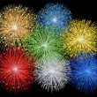 Royalty-Free Stock Photo: Illustration of a fireworks