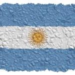 National Flag Argentina — Stock Photo