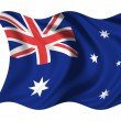 Stock Photo: National Flag Australia