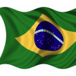 Stock Photo: National Flag Brazil