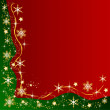 Christmas frame background — Stockfoto