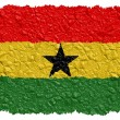 National Flag Ghana — Foto de stock #1649695