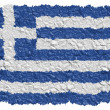 National Flag Greece — Foto Stock #1649776