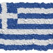 Stock Photo: National Flag Greece