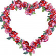 Abtsract flower heart — Foto Stock