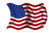 National Flag USA — Stock Photo