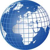Globe Europe Africa — Stock Photo