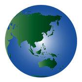 地球-世界 2 — 图库照片