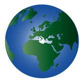 Globe - värld 3 — Stockfoto