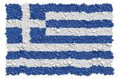 National Flag Greece — Stock Photo