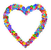 Illustration of a Flower heart — Stock Photo