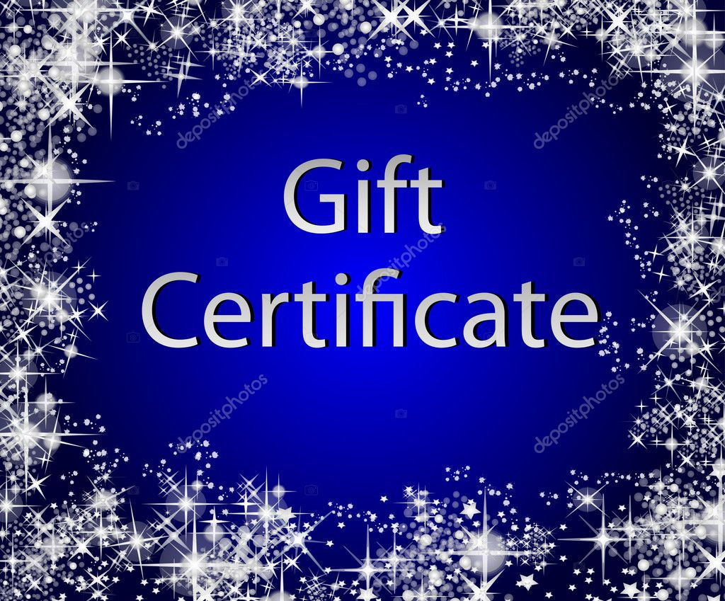 christmas gift certificate stock photo copy pdesign  christmas gift certificate stock image