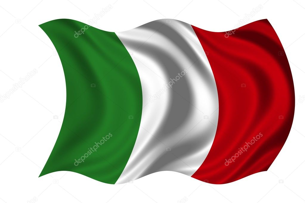 National Flag Italy — Stock Photo #1649936