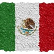 National Flag Mexico — Stock Photo
