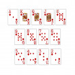 Illustration of a set of poker cards — Stock Photo #1650179