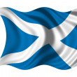 Waving flag Scotland — Stock Photo #1650212