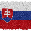 Stock Photo: National Flag Slovakia