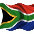 National Flag South Africa — Foto de stock #1650405