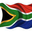 Stock Photo: National Flag South Africa