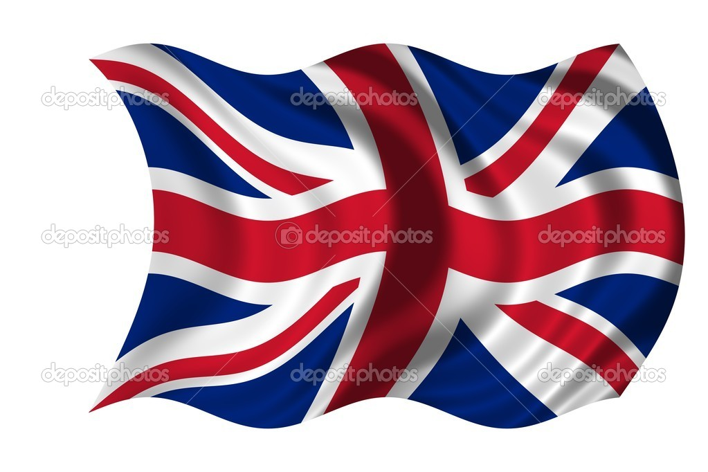 Waving flag United Kingdom  Stock Photo #1650450
