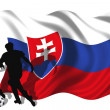 Stock Photo: Soccer player Slovakia