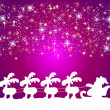 Illustration of a christmas background - Foto Stock