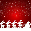 Background with santa claus - Foto Stock