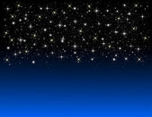 Illustrazione di uno sfondo di stella blu — Foto Stock