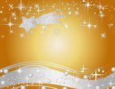 Christmas star background — Stock Photo