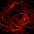 Abstract background made of flames — Stock Photo