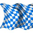 Stock Photo: National Flag Bavaria