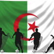 Stock Photo: Soccer player Algeria