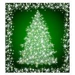 Christmas star tree — Stock Photo #1742354