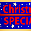 Button Christmas Special — Stock Photo #1742503