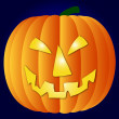 A illustration of a halloween pumpkin — Stock Photo