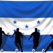 Stock Photo: Soccer player Honduras